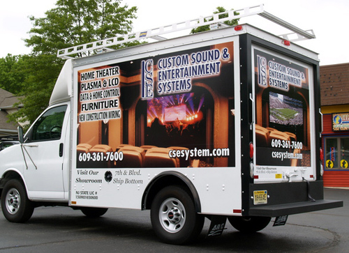 This Box Truck Wrap Is Sure To Bring Him Business We Have Had Two People Ask About His Services Just From The Sitting In Our Lot